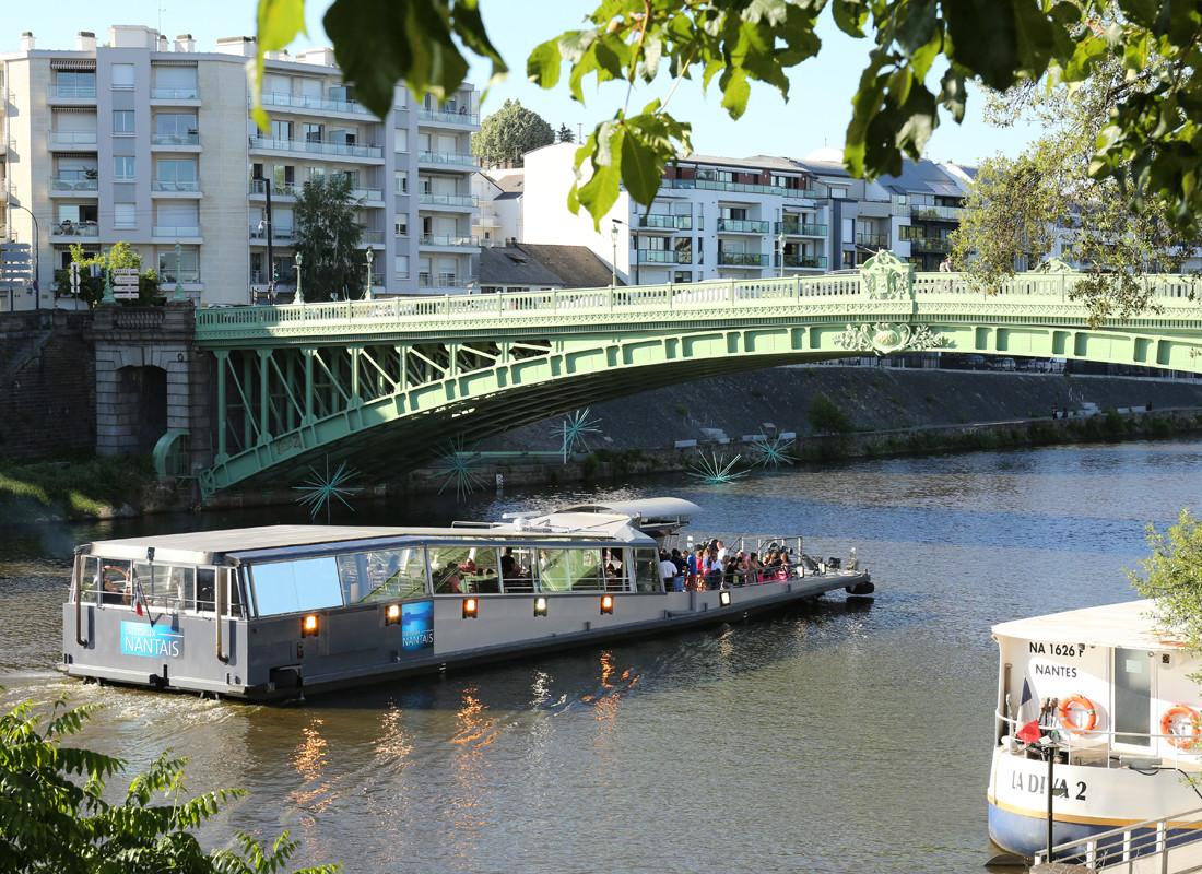 Transfert en bateau - Nantes