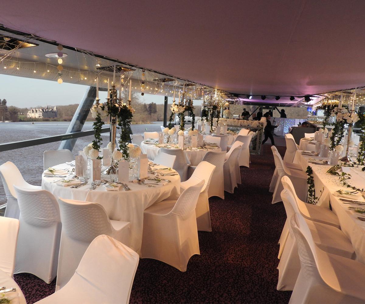 Salle de mariage Nantes - Un bateau restaurant - Bateaux Nantais